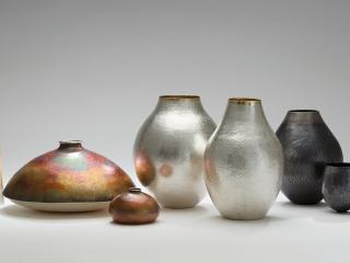 Sculptural Silver
