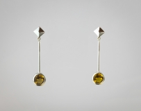 Stage 4 Facetted Gem Drop Earrings